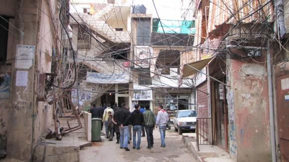 Burj al-Brajneh Palestinian camp.